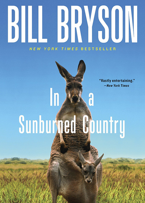 Book Cover: In a Sunburned Country by Bill Bryson