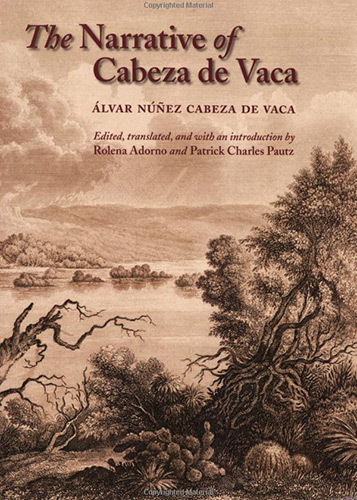Book Cover: Adventures in the Unknown Interior of America by Cabeze de Vaca