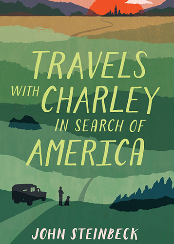 Book Cover: Travels with Charley In Search of America by John Steinbeck