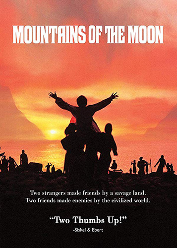 Mountains of the Moon DVD cover