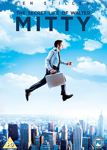 The Secret Life of Walter Mitty DVD cover